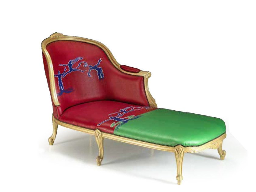 Upholstered day bed SCIMMIA | Day bed by Mirabili