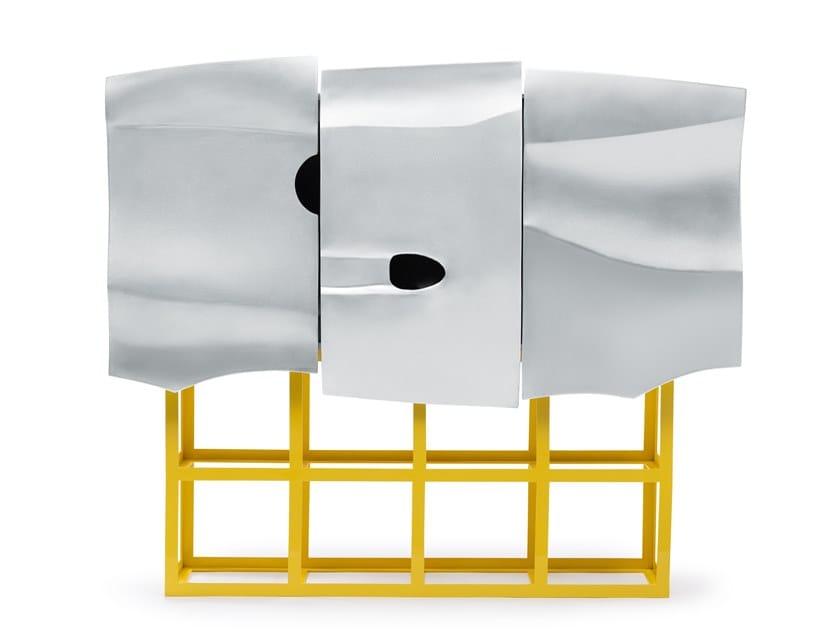 Aluminium sideboard SCOCCA by altreforme
