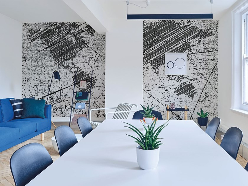 Fire retardant Digital printing wallpaper SCOPERTA by NANNI GIANCARLO & C.