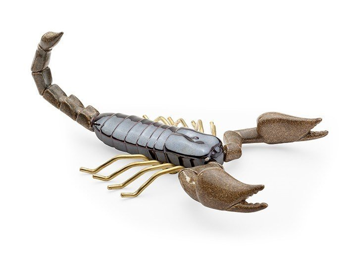 Ceramic decorative object SCORPION SAND by Mambo Unlimited Ideas