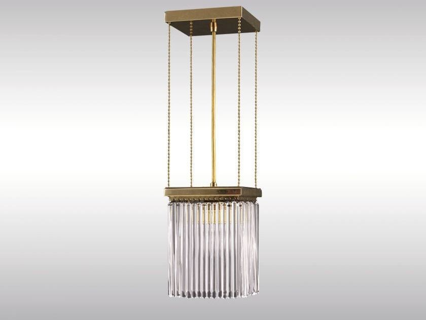 Classic style pendant lamp SCOTCH-PENDE by Woka Lamps Vienna