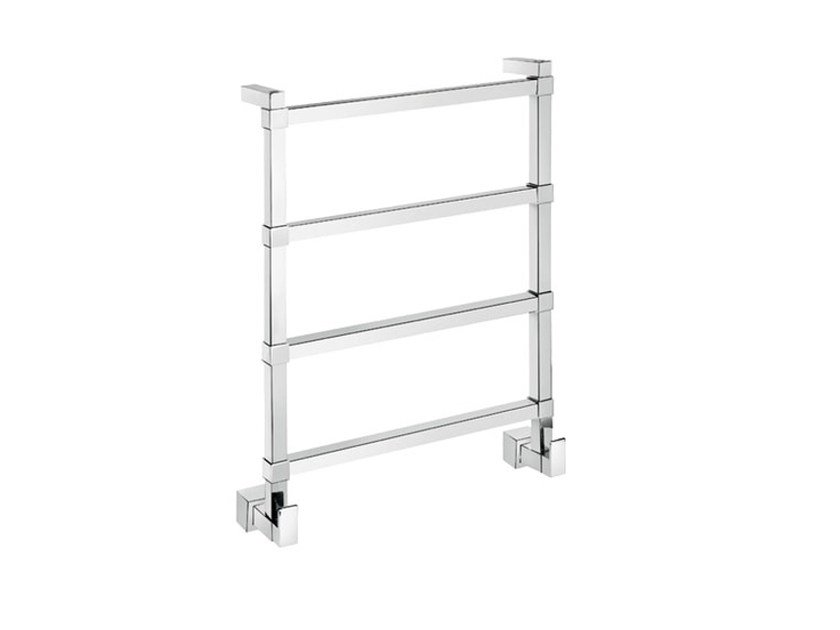 Chrome vertical wall-mounted towel warmer SCPL02C | Towel warmer by Fir Italia