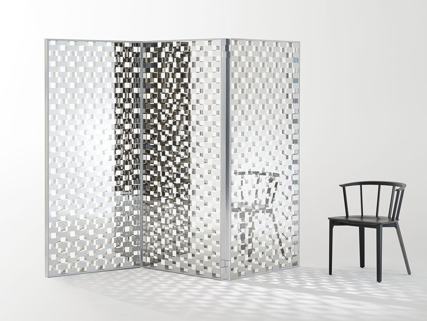 Crystal screen FRAGMENT | Screen by Glas Italia