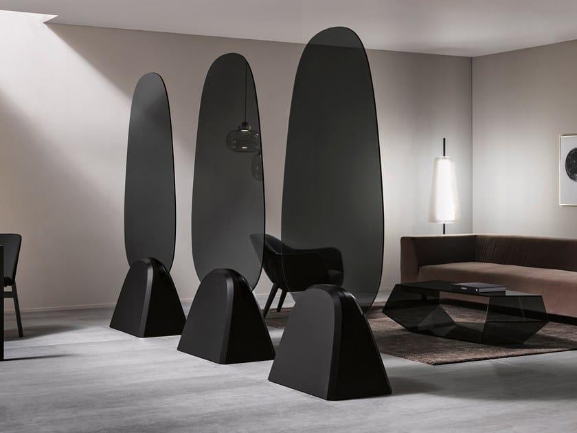 Glass room divider TROPIKAL | Room divider by Tonelli Design