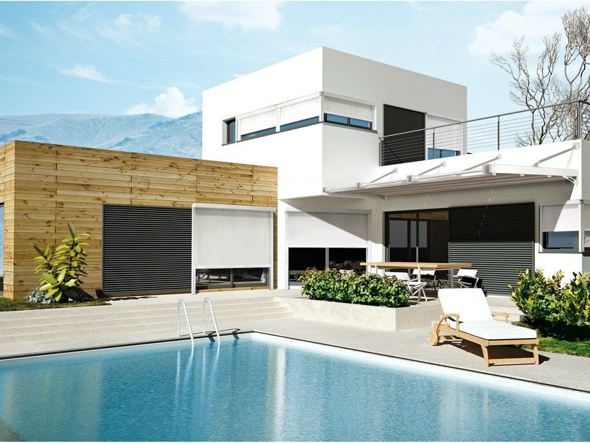Box sliding awning 110 GPZ UNICA | Awning by KE Outdoor Design