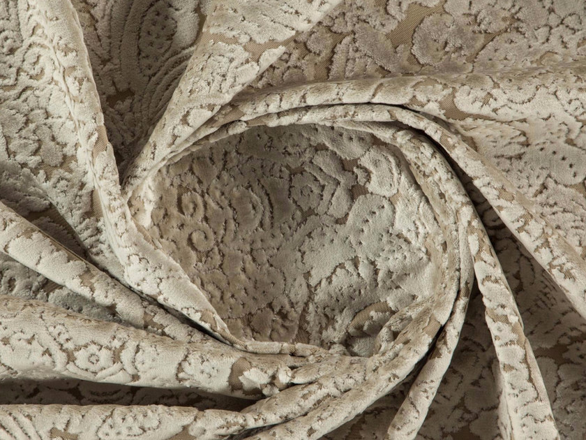 Damask washable velvet fabric SCULPT by More Fabrics