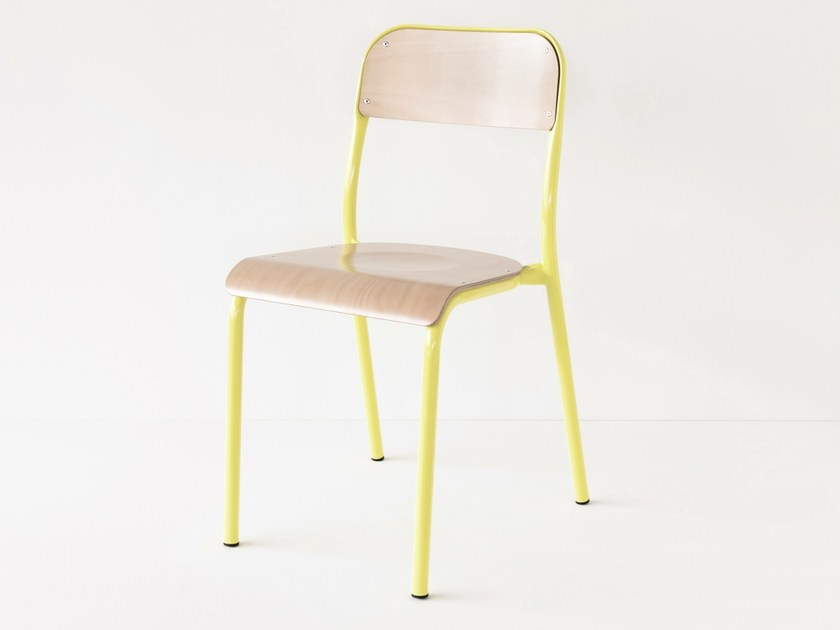 Sedia per scuole impilabile sedia per scuole by landmade