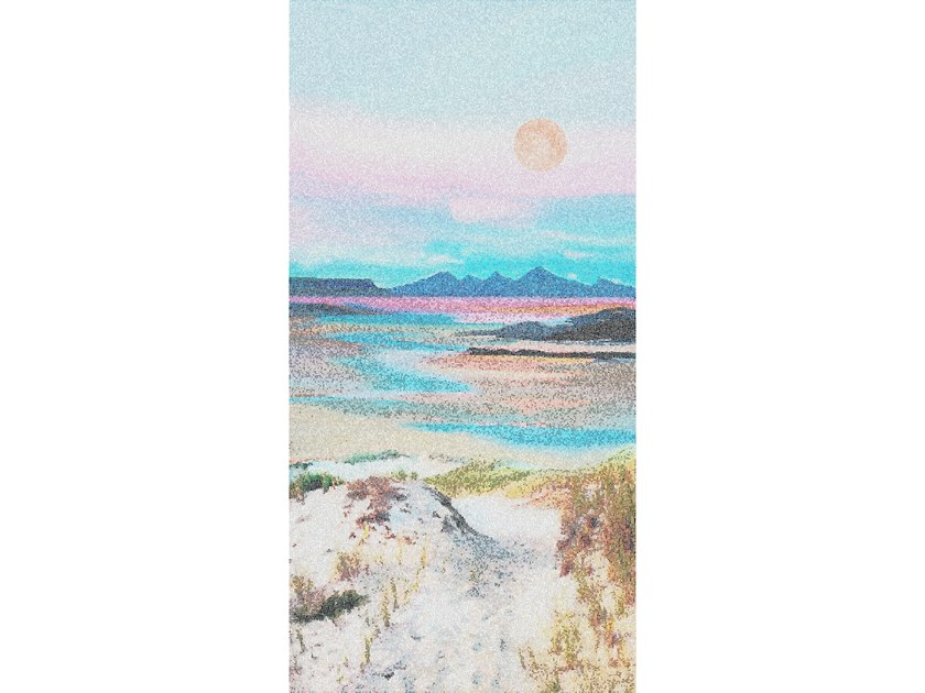 Glass mosaic SEA LANDSCAPE by Mutaforma