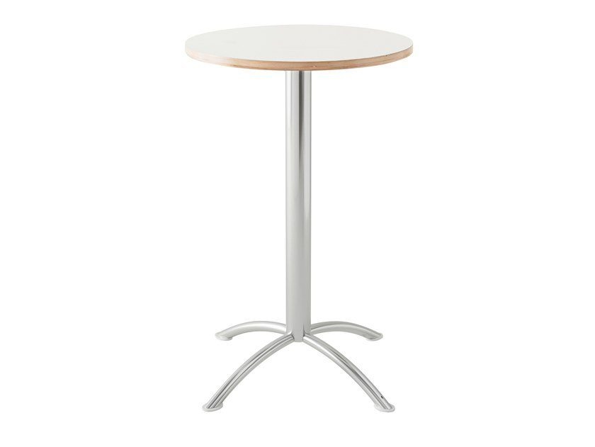 Lacquered round high table SEA | Round table by Segis