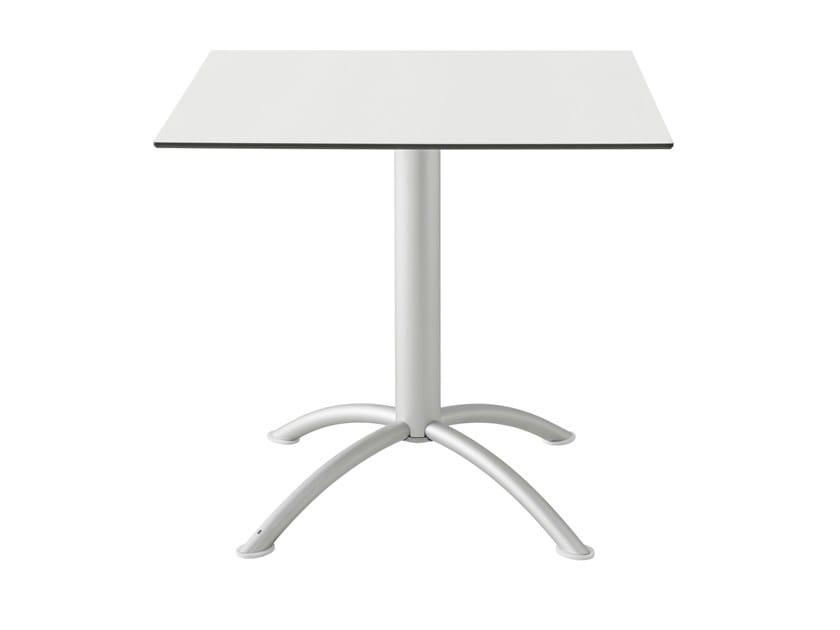 Square laminate table SEA | Square table by Segis