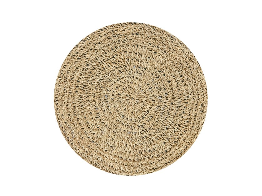 Round Seagrass placemat SEAGRASS | Placemat by Bazar Bizar