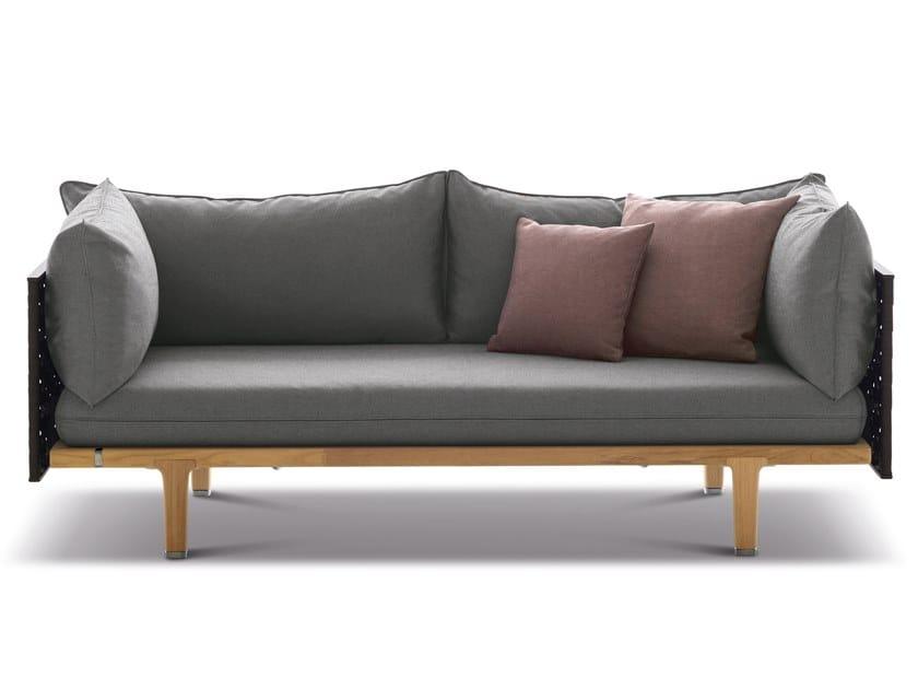 2 seater Nautical rope garden sofa SEALINE by DEDON