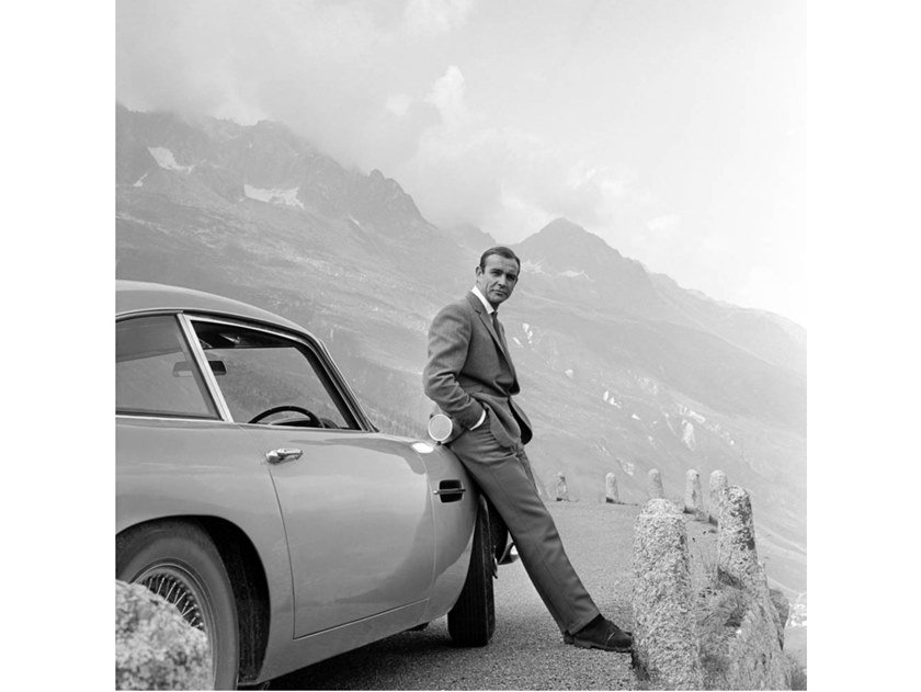 Stampa fotografica SEAN CONNERY FILMING FOR GOLDFINGER by Artphotolimited