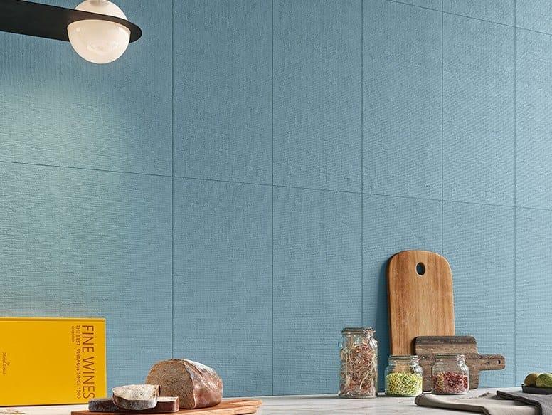 Ceramic wall tiles with textile effect SEASON by Revigrés