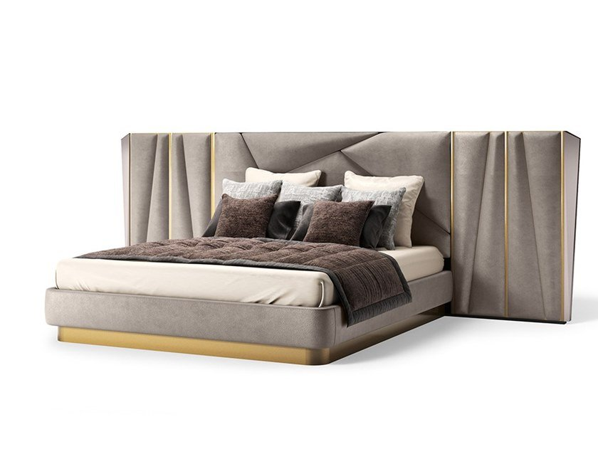 King size bed with high headboard SEASON by Valderamobili