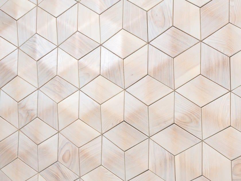 Modular wooden 3D Wall Cladding SEATTLE by NEXT LEVEL DESIGN STUDIO