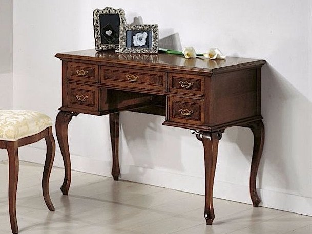 Solid wood secretary desk VARSAVIA | Secretary desk by Arvestyle