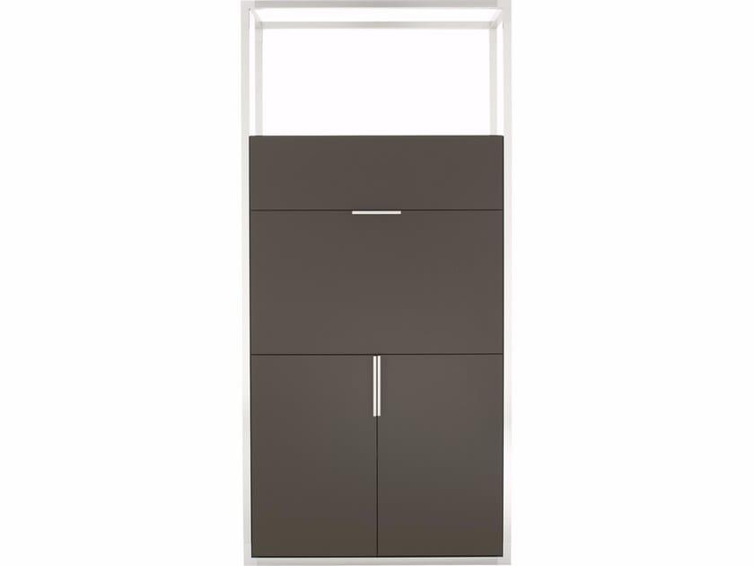 Wood veneer bar cabinet DEDICATO | Bar cabinet by Ligne Roset