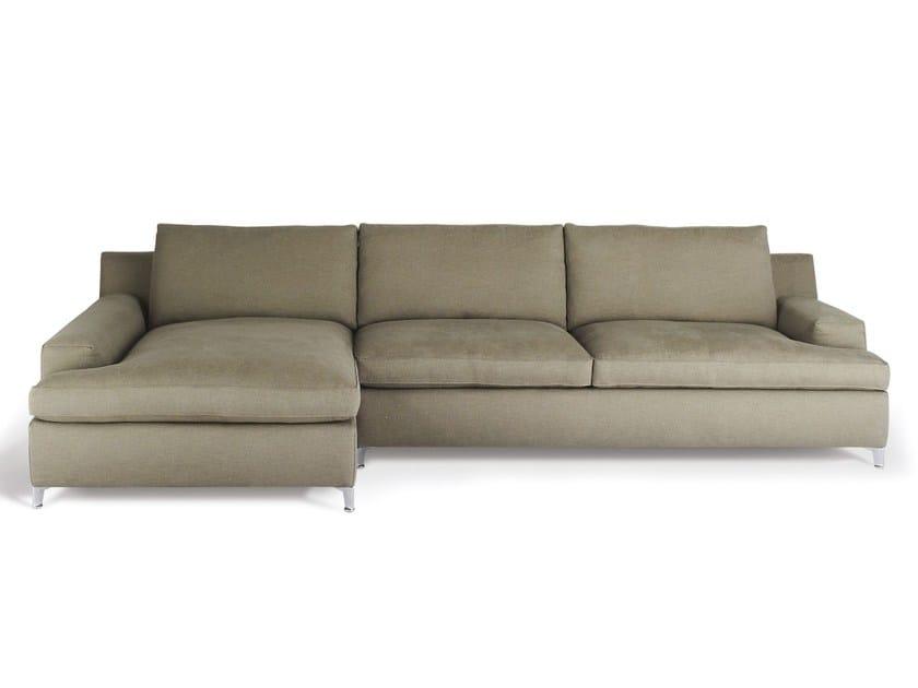 Sectional fabric sofa MALTA | Sectional sofa by Arketipo