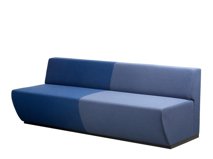 Anbausofa aus Stoff TRAIN BENCH | Anbausofa by Casala