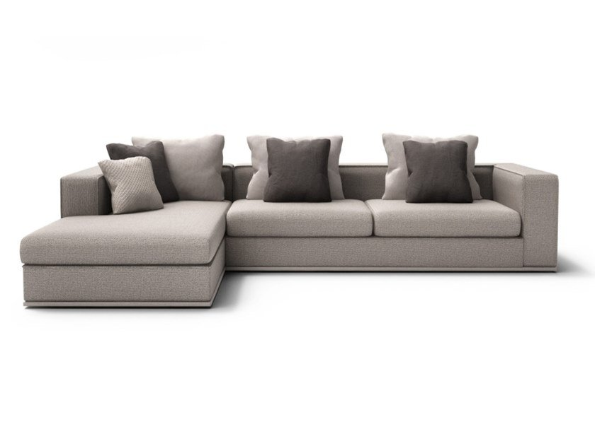 Sectional fabric sofa CHELSEA | Sectional sofa by Huppé