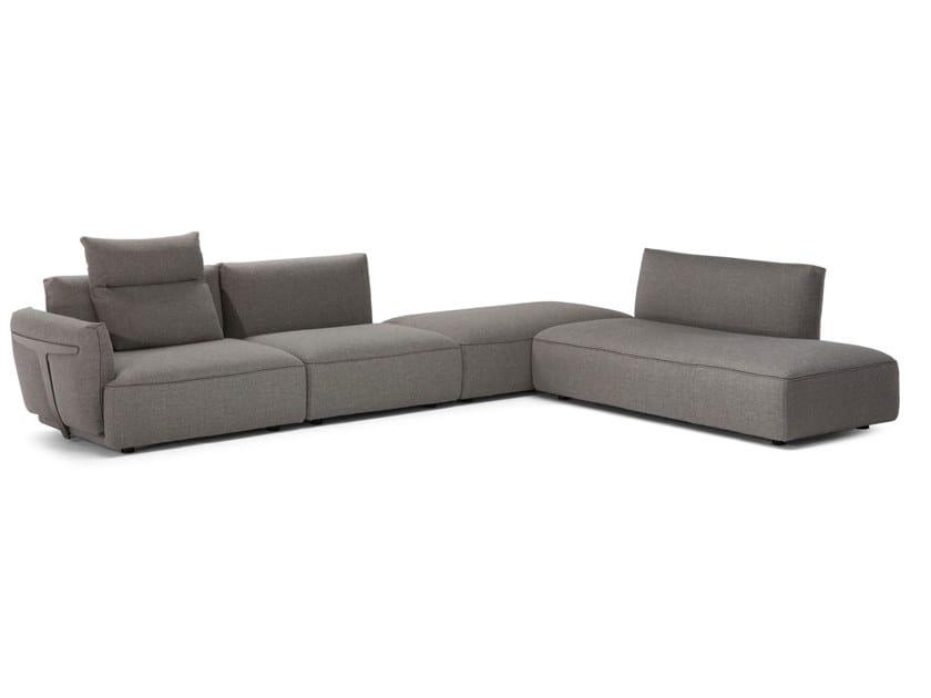Sectional modular sofa HERMAN | Sectional sofa by Natuzzi