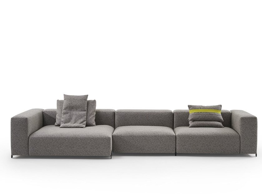 Sectional fabric sofa MOUSSE | Sectional sofa by Sancal