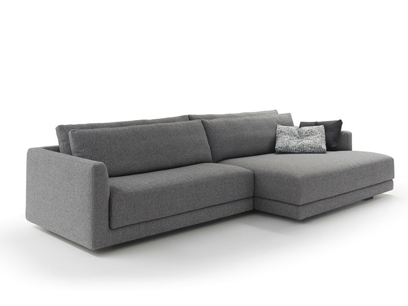 Sectional fabric sofa ALEXANDER | Sectional sofa by VALENTINI