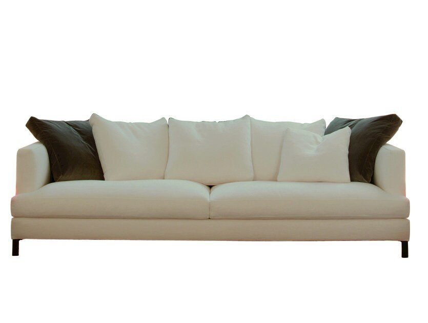 Sectional fabric sofa with removable cover HAMPTON MEMORY | Sectional sofa by Verzelloni