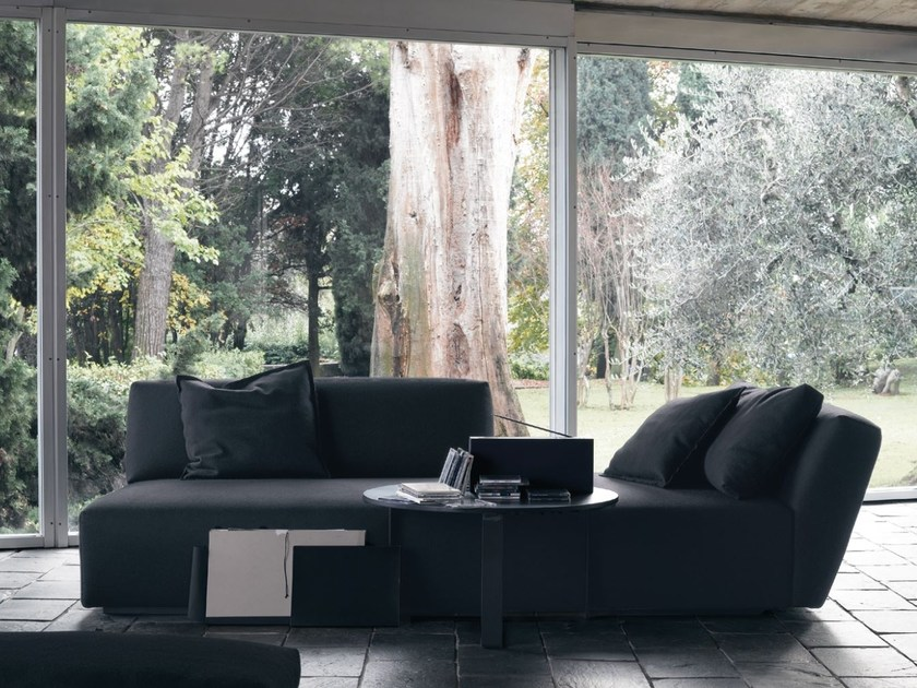 Sectional fabric sofa with removable cover ITACA | Sectional sofa by Verzelloni