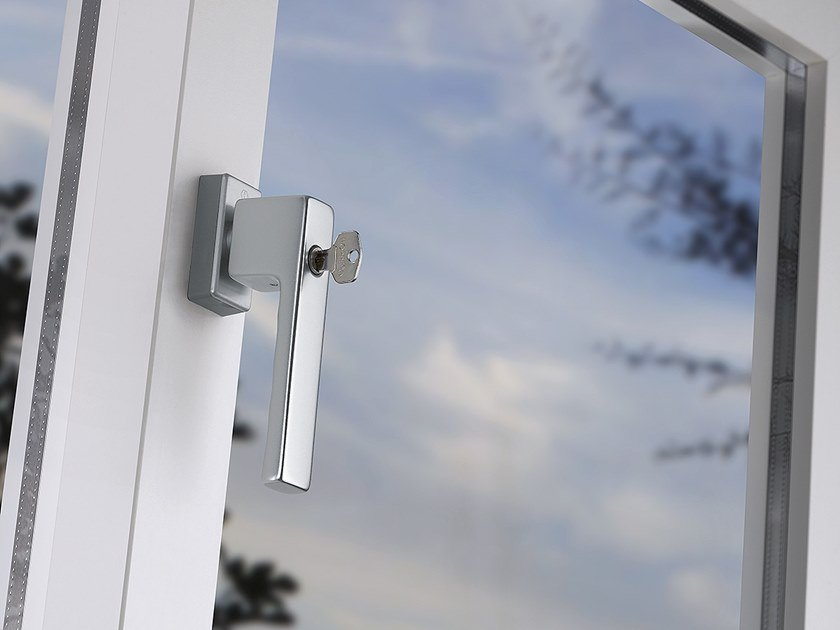 Anti-intrusion window handle with lock SECUFORTE® TOULON | Window handle with lock by HOPPE