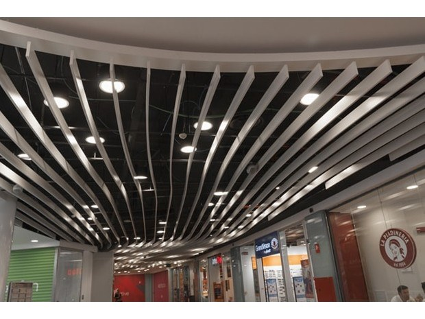 Acoustic baffles SEDES™ STRAIGHT by HunterDouglas Architectural