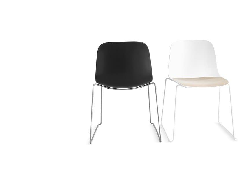 SEELA | Sedia a slitta Collezione SEELA By Lapalma design Antti ...