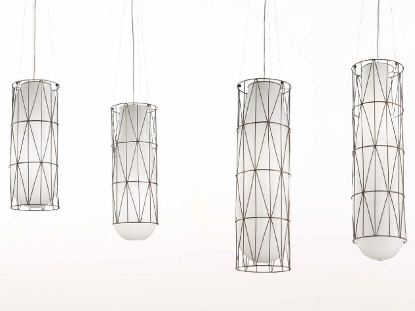Murano glass pendant lamp SEGNI MS435 by Siru