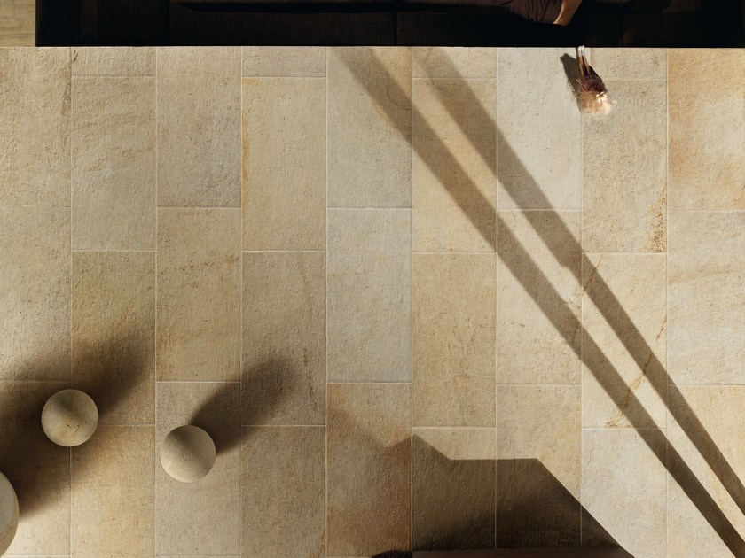 Porcelain stoneware wall/floor tiles with stone effect SELCI BARGIA by ASTOR CERAMICHE