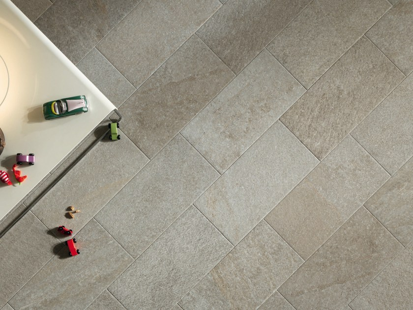 Porcelain stoneware wall/floor tiles with stone effect SELCI CHIARA by ASTOR CERAMICHE