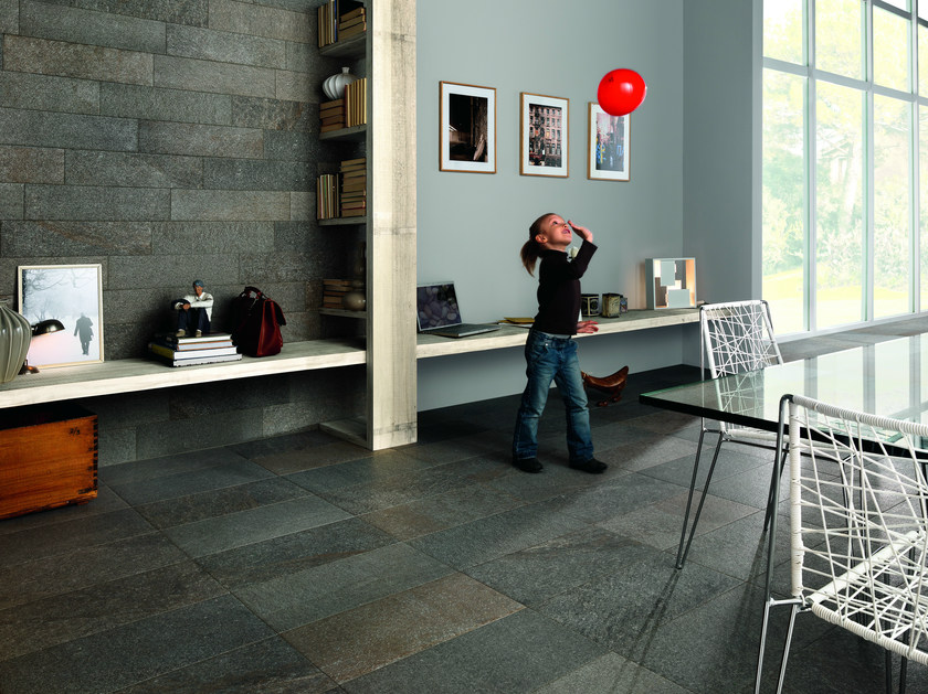Porcelain stoneware wall/floor tiles with stone effect SELCI LUSIA by ASTOR CERAMICHE