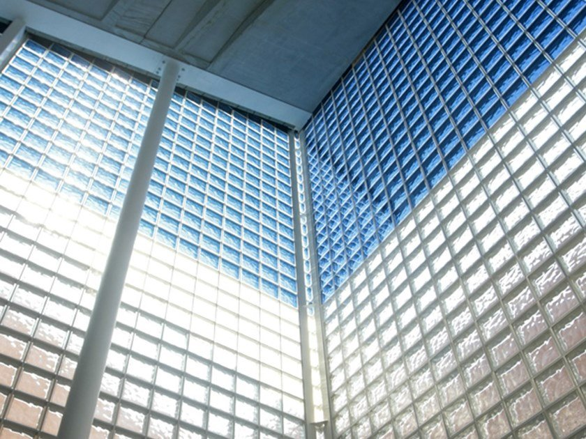 Blocco di vetro autopulente SELF CLEANING by Seves Glassblock