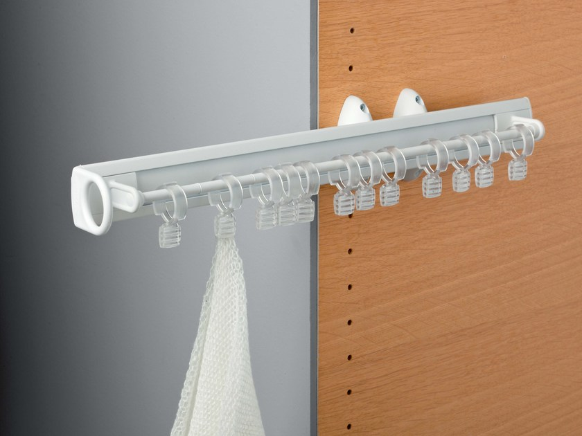 Pull-out plastic scarf rack SELF SYSTEM   Scarf rack by Servetto