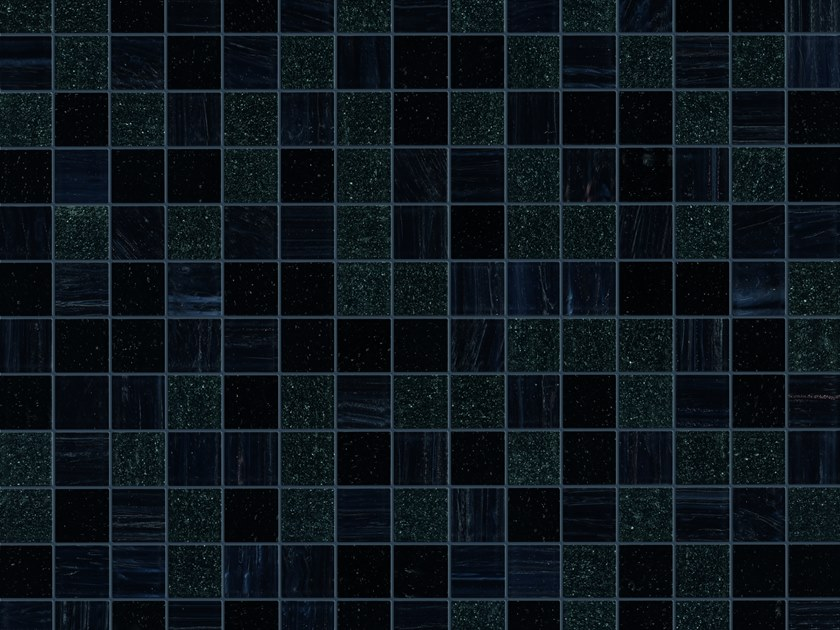 Glass mosaic SELVAGEM by Elements Mosaic