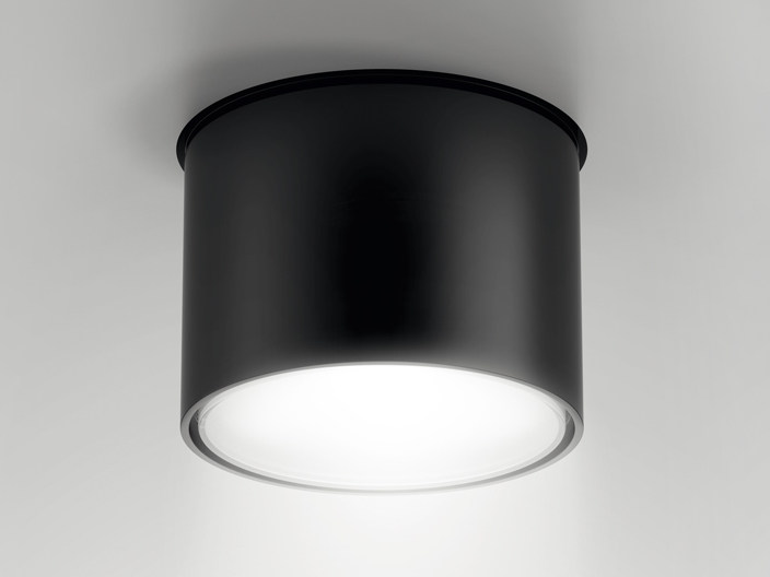 LED semi-inset aluminium spotlight NODE | Semi-inset spotlight by Artemide