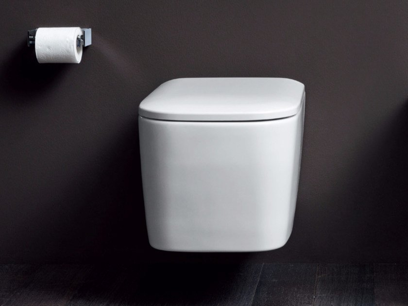 Wall-hung ceramic toilet SEMPLICE | Wall-hung toilet by Nic Design