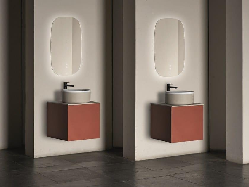 Mobile lavabo singolo sospeso SEN | Mobile lavabo singolo by Fiora