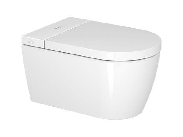 WC suspendu en céramique SENSOWASH® STARCK F PLUS by Duravit