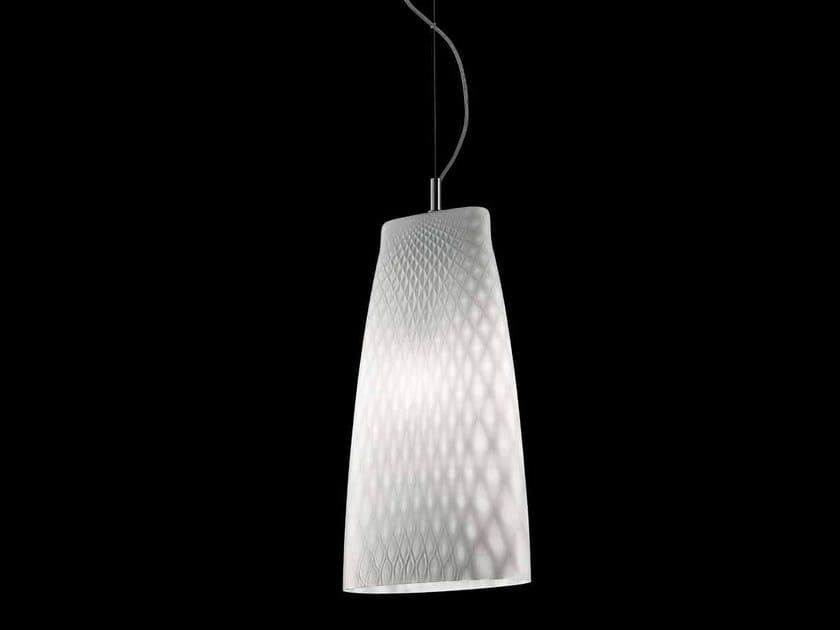 Murano glass pendant lamp SEPPIA LS 623 by Siru