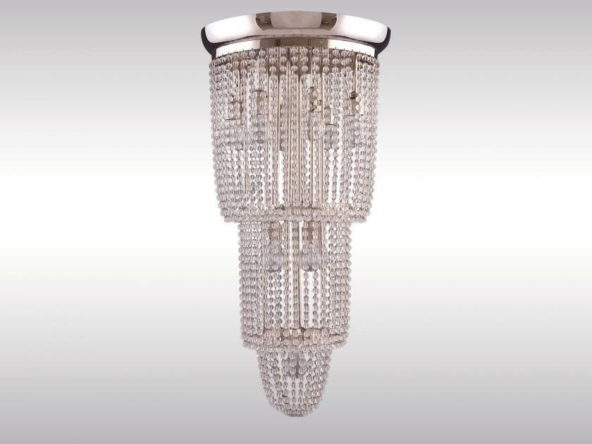Classic style crystal chandelier SERGE by Woka Lamps Vienna