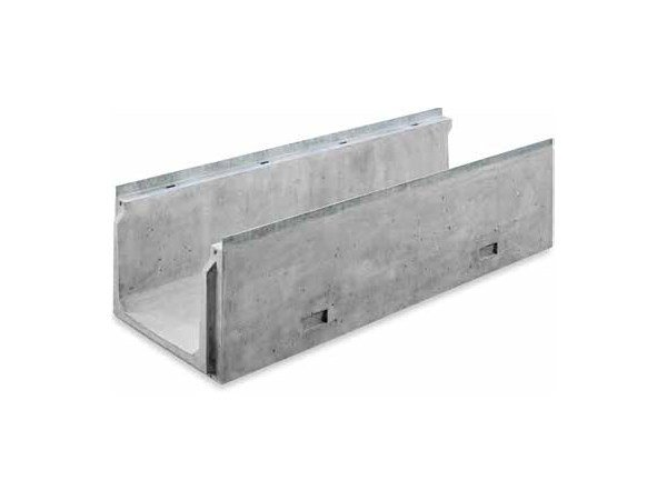 Reinforced concrete Drainage channel and part SERIE C800 by GRIDIRON GRIGLIATI