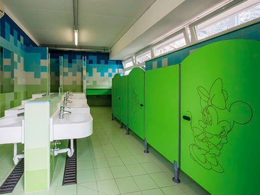 Changing rooms for schools SERIE GK 1-T by GES Group