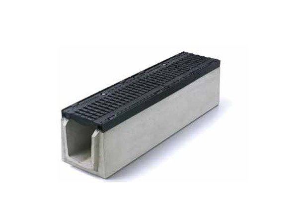 Reinforced concrete Drainage channel and part SERIE K220 by GRIDIRON GRIGLIATI