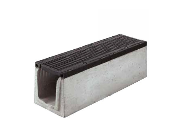 Reinforced concrete Drainage channel and part SERIE K270 by GRIDIRON GRIGLIATI